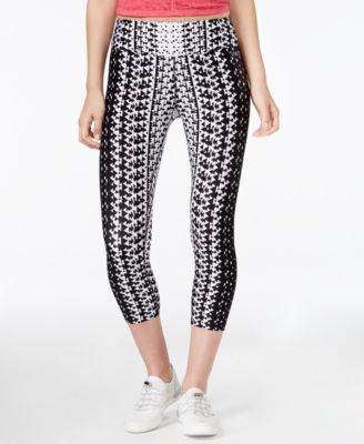 Calvin Klein Performance Geo-Print Capri Leggings