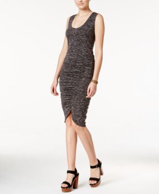 Jessica Simpson Binx Space-Dyed Ruched Bodycon Dress