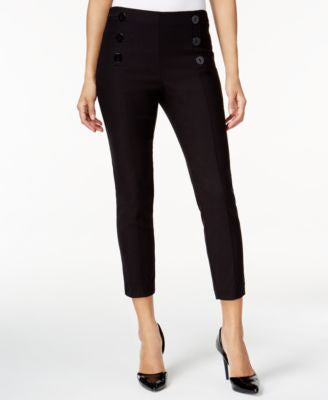 Bar III Mariner Cropped Pull-On Pants, Only at Vogily
