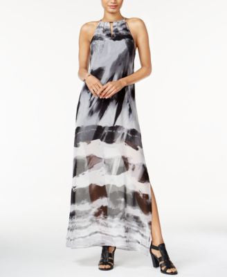 Bar III Tie-Dyed Maxi Dress, Only at Vogily