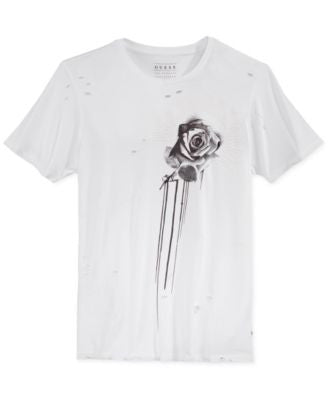 GUESS Men's Heartbreaker Graphic-Print T-Shirt
