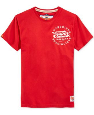 Superdry Men's Authorised Specialists Graphic-Print T-Shirt