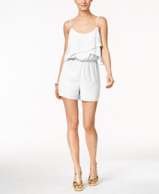 Thalia Sodi Ruffled Romper, Only at Vogily