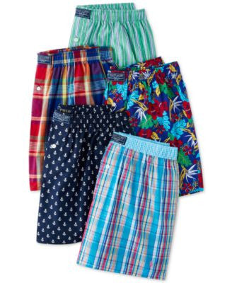 Polo Ralph Lauren Fashion Printed Woven Boxers