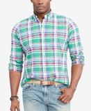 Polo Ralph Lauren Men's Big & Tall Checked Oxford Shirt