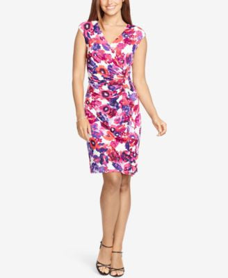American Living Ruffled Floral-Print Dress