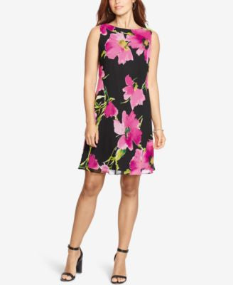 American Living Floral-Print Shift Dress