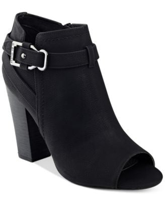 G by GUESS Julep Peep-Toe Booties