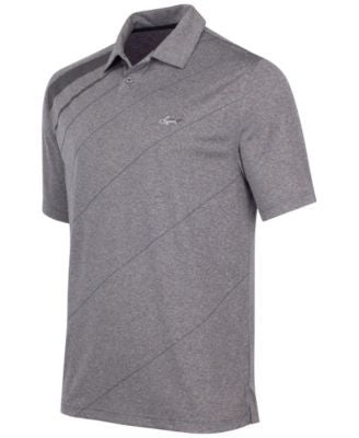 Greg Norman for Tasso Elba Men's Diagonal Stripe Golf Polo