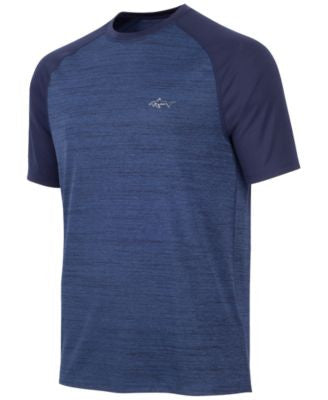 Greg Norman For Tasso Elba Men's Heathered Rapidry T-Shirt