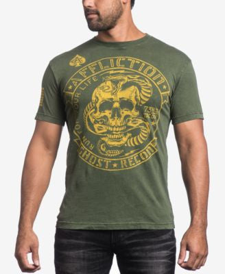 Affliction Men's 73 Tactical Graphic-Print T-Shirt