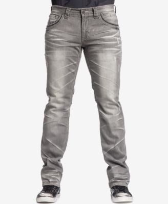 Affliction Men's Ace Fleur Slim-Straight Norwalk-Wash Jeans