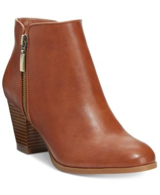 Style&co. Jamila Zip Booties, Only at Vogily