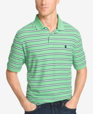 IZOD Men's Striped Polo Shirt