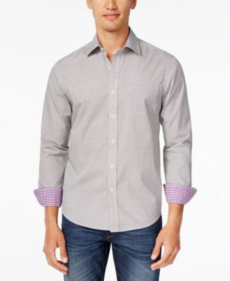 Weatherproof Men's Long-Sleeve Shirt, Only at Vogily