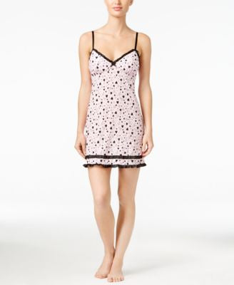 Jenni by Jennifer Moore Ruffle-Trimmed Chemise, Only at Vogily