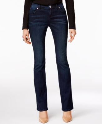 INC International Concepts Petite Curvy Phoenix Wash Bootcut Jeans, Only at Vogily