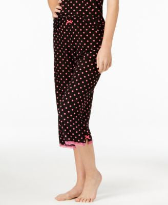 Jenni by Jennifer Moore Printed Capri Pajama Pants, Only at Vogily