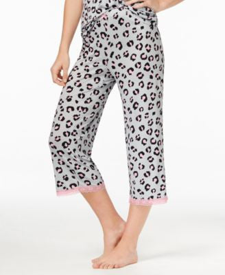 Jenni by Jennifer Moore Leo Printed Capri Pajama Pants, Only at Vogily