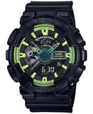 G-Shock Men's Analog-Digital Black Resin Strap Watch 55x51mm GA110LY-1A