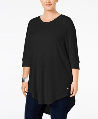 Melissa McCarthy Seven7 Trendy Plus Size High-Low T-Shirt