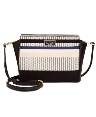 kate spade new york Prospect Place Striped Hayden Crossbody