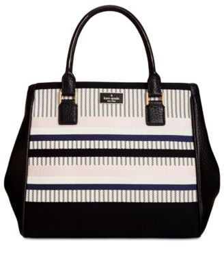 kate spade new york Prospect Place Stripe Maddie Satchel