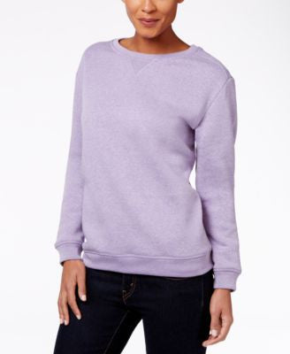 Karen Scott Fleece Sweatshirt, Only at Vogily