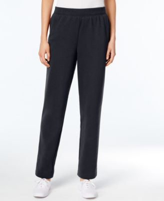 Karen Scott Pull-On Fleece Pants, Only at Vogily
