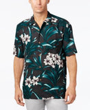 Tommy Bahama Men's Lily Soleil Floral-Print Silk Short-Sleeve Shirt