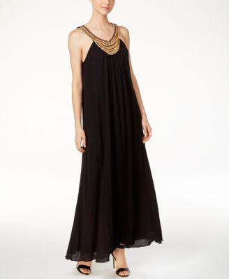 Catherine Catherine Malandrino Heiko Embellished Maxi Dress