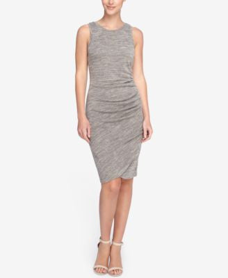 Catherine Catherine Malandrino Heathered Sheath Dress