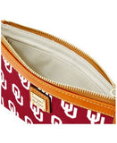Dooney & Bourke Oklahoma Sooners Large Wristlet