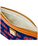 Dooney & Bourke Ole Miss Rebels Large Wristlet