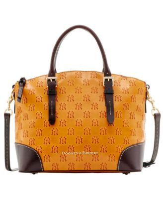 Dooney & Bourke New York Yankees Leather Domed Satchel