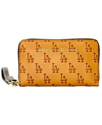 Dooney & Bourke Los Angeles Dodgers Leather Wristlet