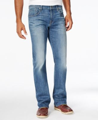 7 For All Mankind Men's Brett Bootcut Uptown Blue Jeans