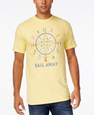 Club Room Men's Compass Graphic-Print T-Shirt, Only at Vogily