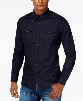 GStar Men's Raw Long-Sleeve Shirt