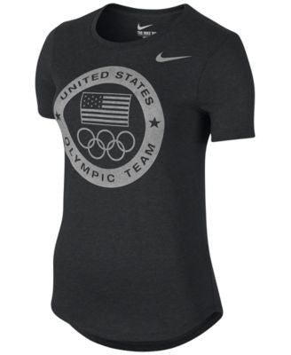 Nike Womens Team USA Dri-FIT Graphic T-Shirt