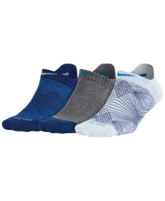 Nike 3-Pk. Dri-FIT No-Show Socks