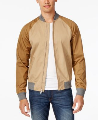 Michael Kors Men's Colorblocked Baseball Jacket