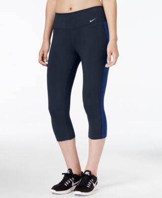 Nike Legend Dri-FIT Cotton-Blend Capri Leggings