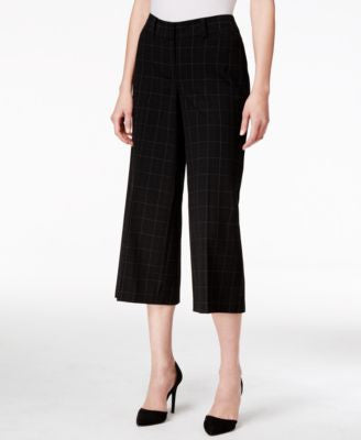 Style & Co. Plaid Culottes, Only at Vogily