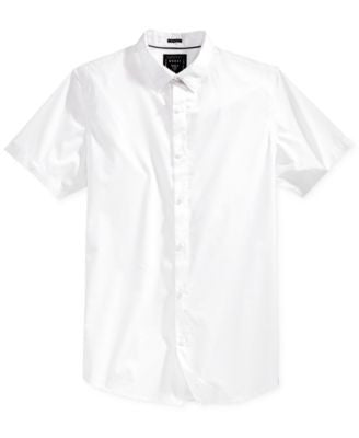 GUESS Men's Wynn Stripe Short-Sleeve Shirt
