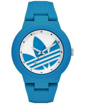 adidas Women's Originals Blue Silicone Strap Watch 41mm ADH3118