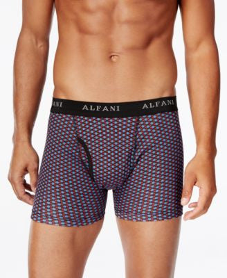 Alfani Men's 4-Pk. Printed Boxer Briefs, Only at Vogily