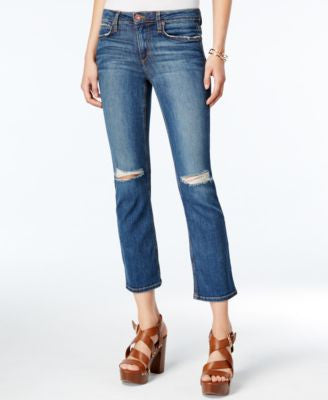 Joe's Cropped Flared Mellie Wash Jeans