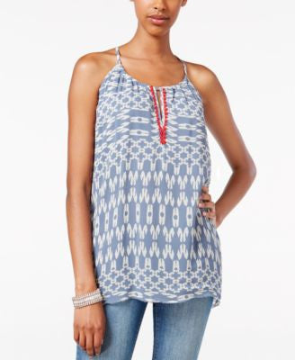 Lucky Brand Sleeveless Printed Top