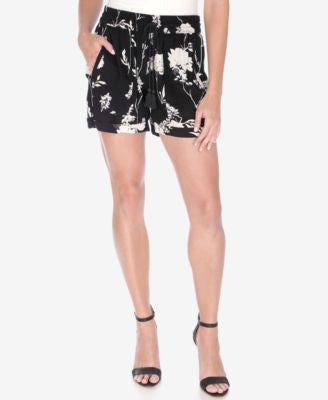 Lucky Brand Floral-Print Drawstring Shorts